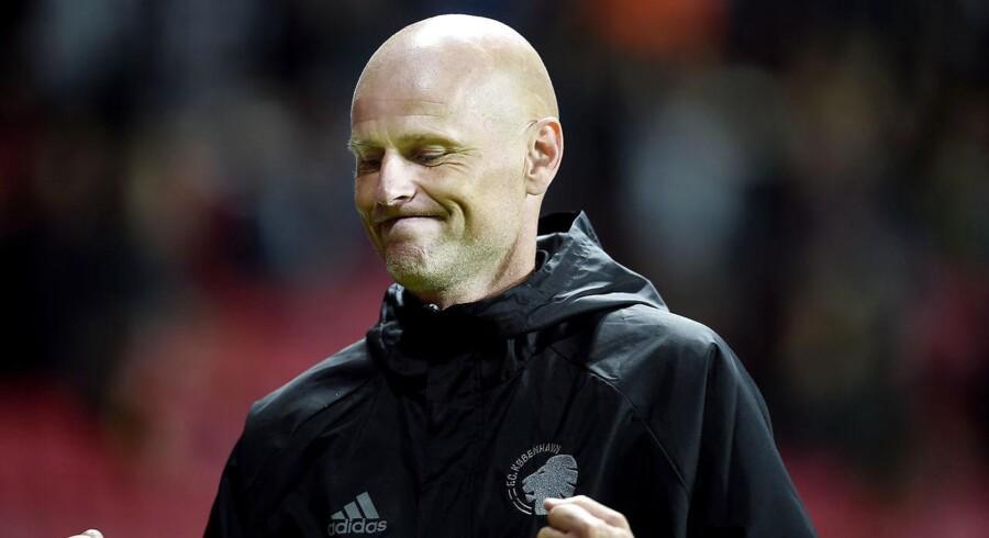 Cheftræner Ståle Solbakken.