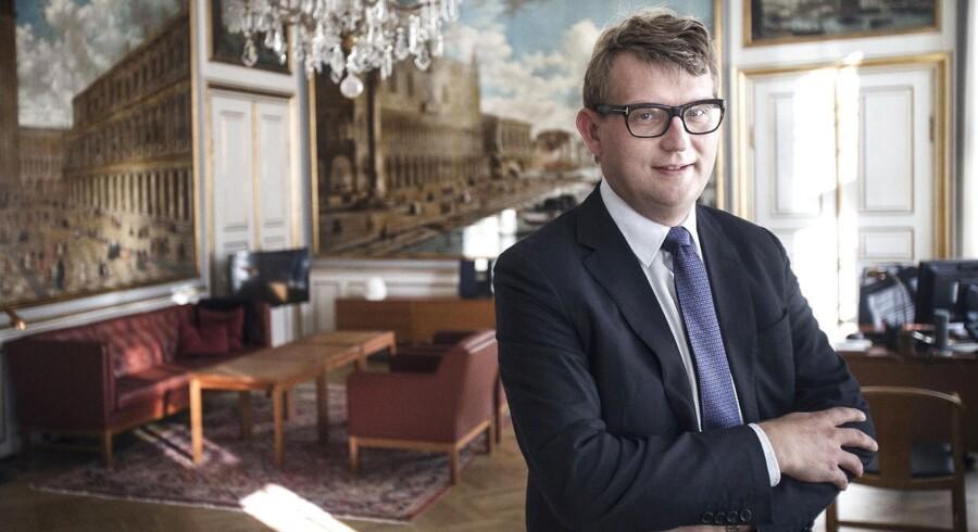 Erhvervs- og vækstminister Troels Lund Poulsen giver nu en pulje penge til projekter i iværksættermiljøet.