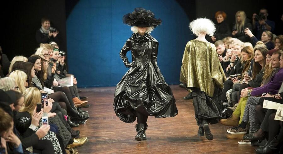 Ivan Grunddahls modeshow i Den gamle Børsbygning under Copenhagen Fashion Week, torsdag 30.januar 2014.
