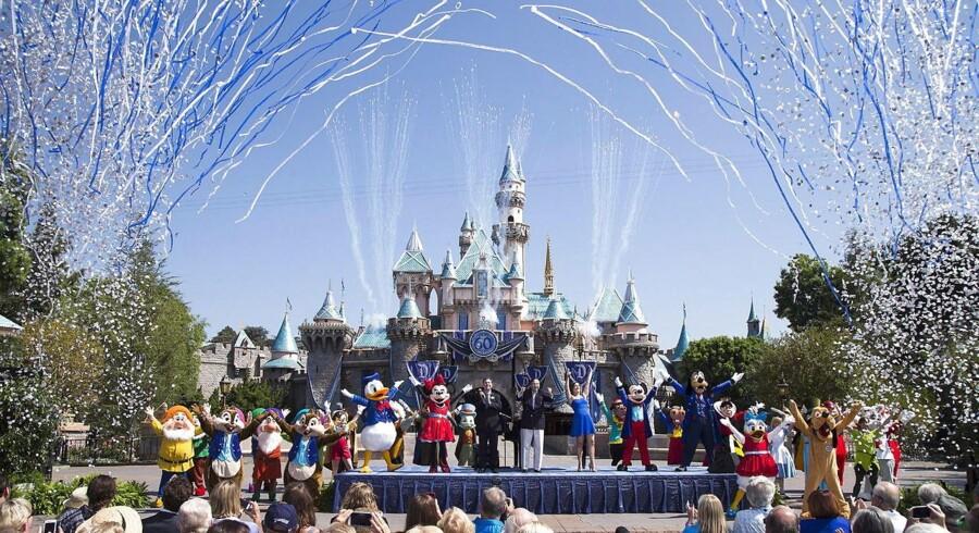 Disney pustet omkuld af den store stygge dollar