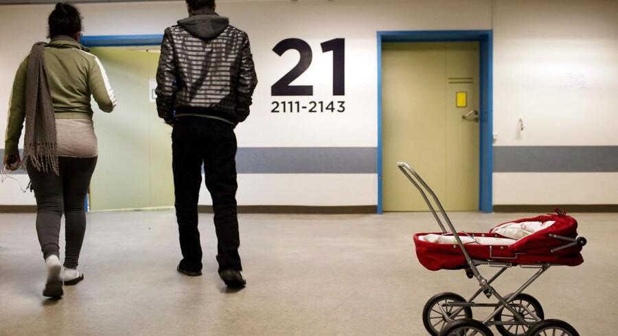 ARKIVFOTO. Flygtninge fra Eritrea fotograferet i det Midlertidige modtagecenter i Helsingør Hospital.