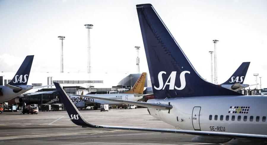 SAS fremlagde torsdag morgen regnskab for 2013/2014.