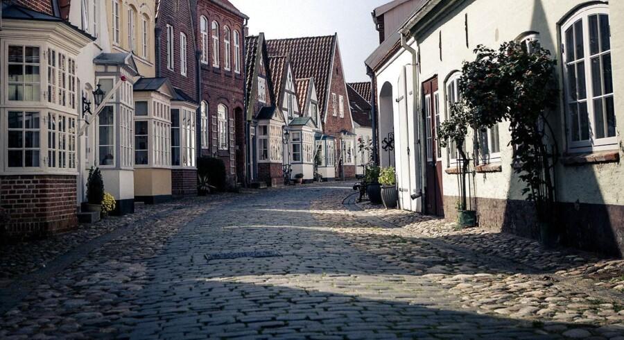 Arkivfoto fra reportage fra Tønder 10 år efter Tønder-sagen.