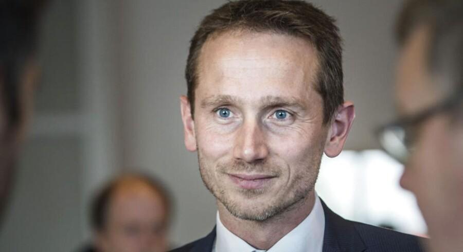 Danmarks udenrigsminister, Kristian Jensen (V).