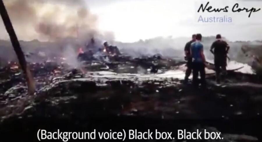 Skærmbillede fra videoen, som er offentliggjort af den australske mediegigant News Corp.