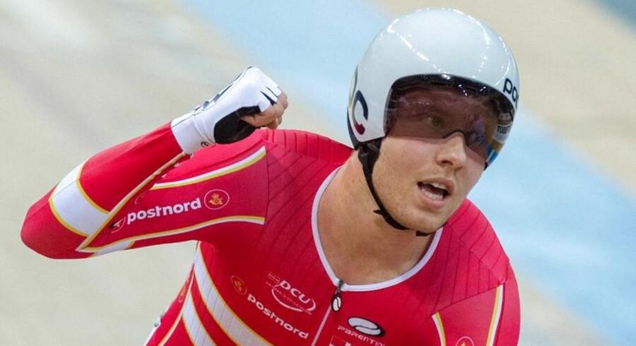 Arkivfoto. Casper Pedersen vandt lørdag guldmedaljen i linjeløb for U23-herrer ved EM på hjemmebane i Herning.
