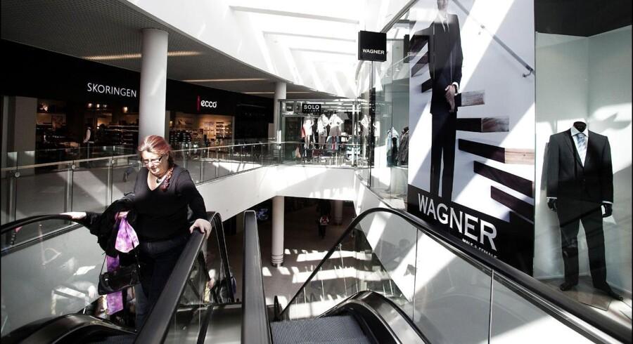 Shoppingcenter Sillebroen i Frederikssund.