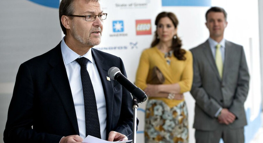 Erhvervs- og vækstministeren Ole Sohn (SF) drager i morgen endnu en gang østpå - denne gang uden Kronprinseparret.