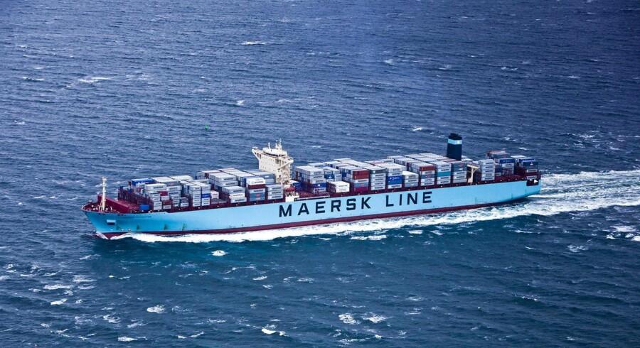 Arkivfoto: Maersk Line (Foto: Asger Ladefoged/Scanpix 2013)
