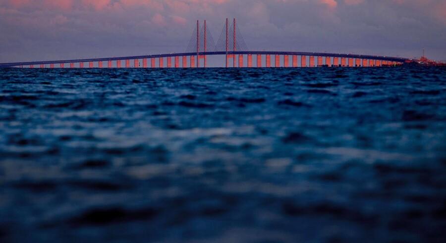 Øresundsbroen (Foto: Bax Lindhardt/Scanpix 2013)