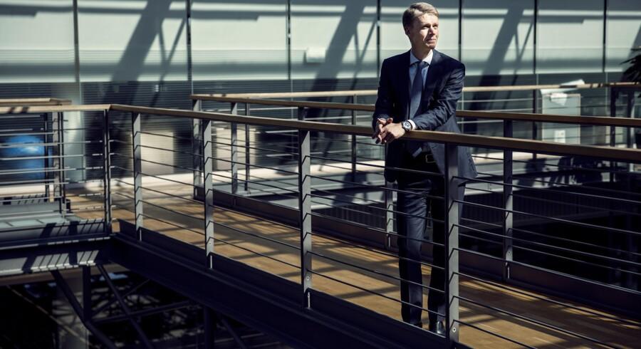 DONGs administrerende direktør, Henrik Poulsen, forberedte i går medarbejderne på, at der er udsigt til fyringer. Arkivfoto: Nikolai Linares