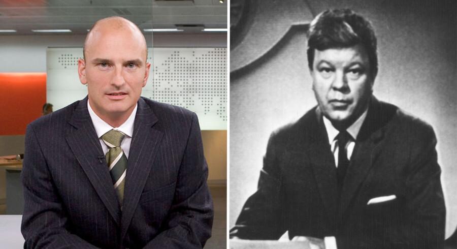 Morten Schnell-Lauritzen (tv) og Eric Danielsen (th).