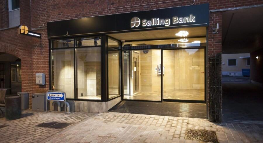 Onsdag, den 22. oktober 2014 Salling Bank flyttet til Vestergade Foto: Morten Dueholm
