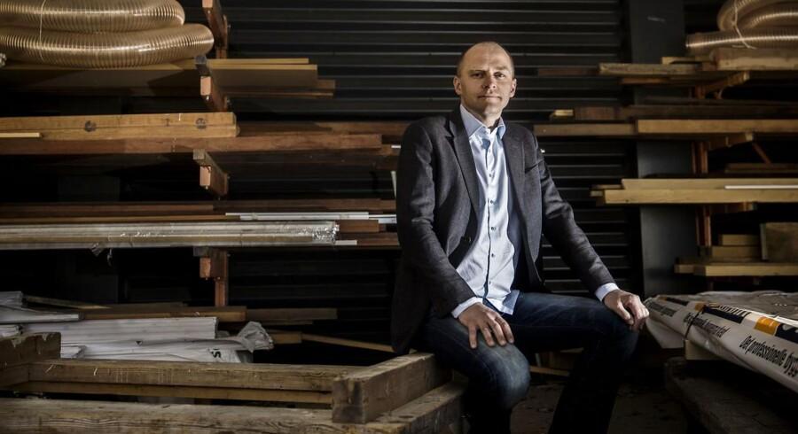 Martin Skou Heidemann har bygget sin egen tømrervirksomhed op fra tre ansatte inklusive ham selv til i dag at have godt 130 medarbejdere.