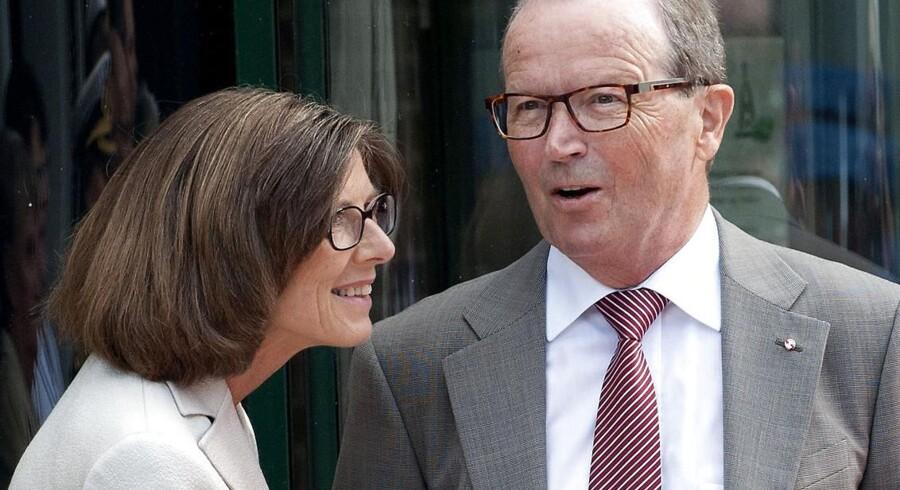 Danmarks rigeste mand Keld Kirk Kristiansen og Camilla Kirk Kristiansen