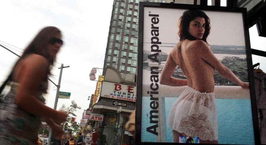 American Apparel er blandt andet kendt for at benytte deres ekspedienter som modeller.