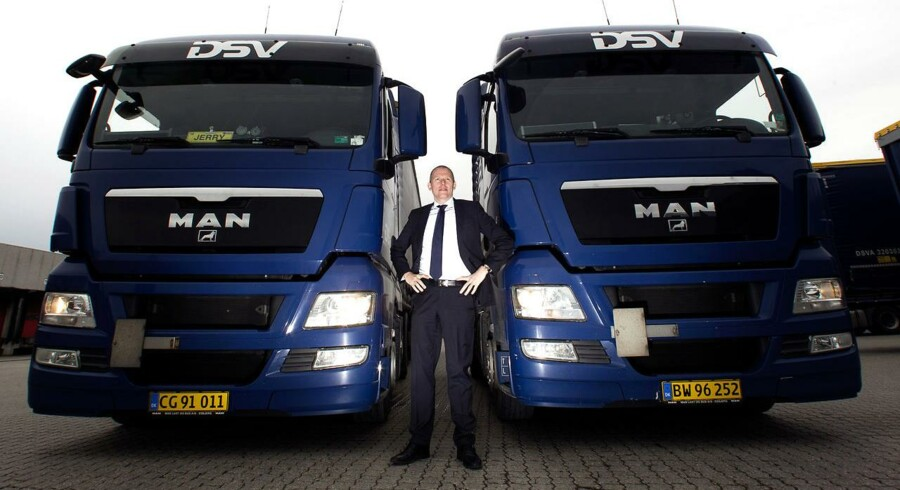 Jens Bjørn Andersen, topchef for transportgiganten DSV