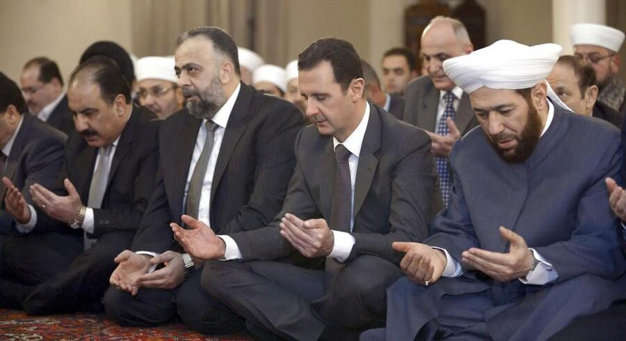 Arkivfoto. President Bashar al-Assad.