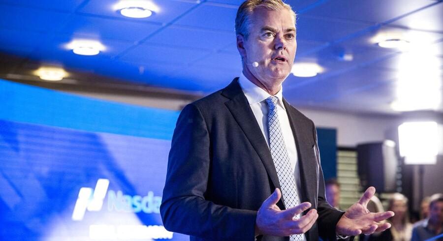 Nets børsintroduceres. Bo Nilsson, adm. direktør i Nets.. (Foto: Nikolai Linares/Scanpix 2016)