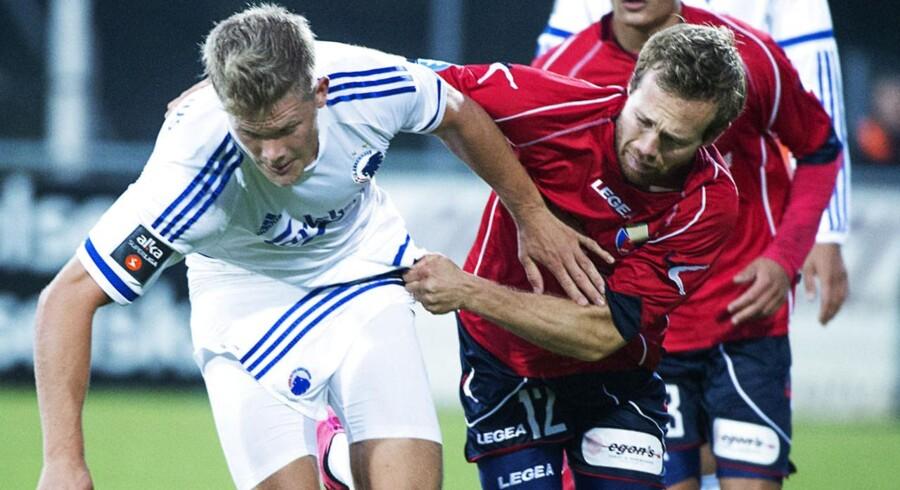 ARKIVFOTO. Her ses FC Vestsjælland og FCK i pokalkamp.