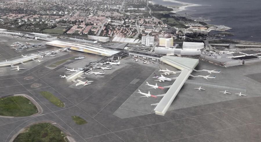 For at vokse til 40 mio. passagerer om året, skal Københavns Lufthavn udbygges flere steder. Næste skridt er en ny langdistance-finger.