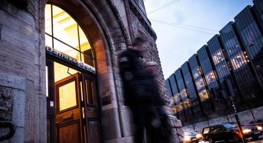 Investorerne kvitterer for Danske Banks kvartalsregnskabet for fjerde kvartal med en kursstigning.