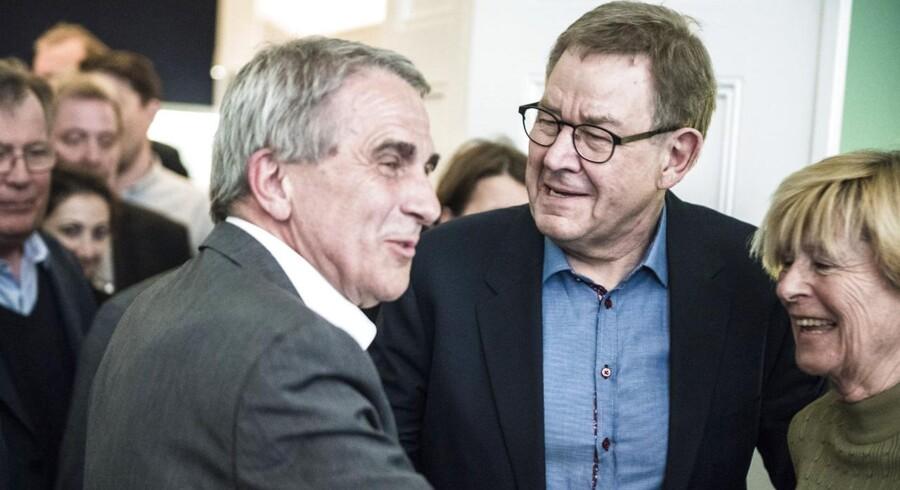 Arkivfoto. En europæisk finansskat kan finansiere en ny dagpengeløsning, siger tidligere statsminister Poul Nyrup Rasmussen på SFs landsmøde.