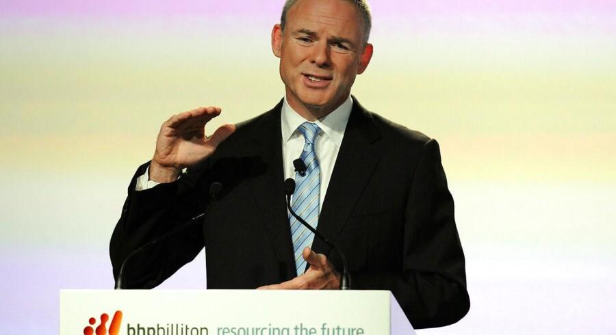 Marius Kloppers, fra sin tid som administrerende direktør i verdens største mineselskab, BHP Billiton.
