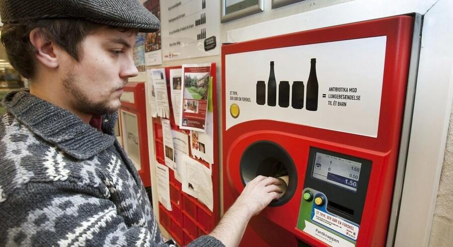 COOP beretter om, at danskerne er blevet mere gavmilde med pantdonationer.