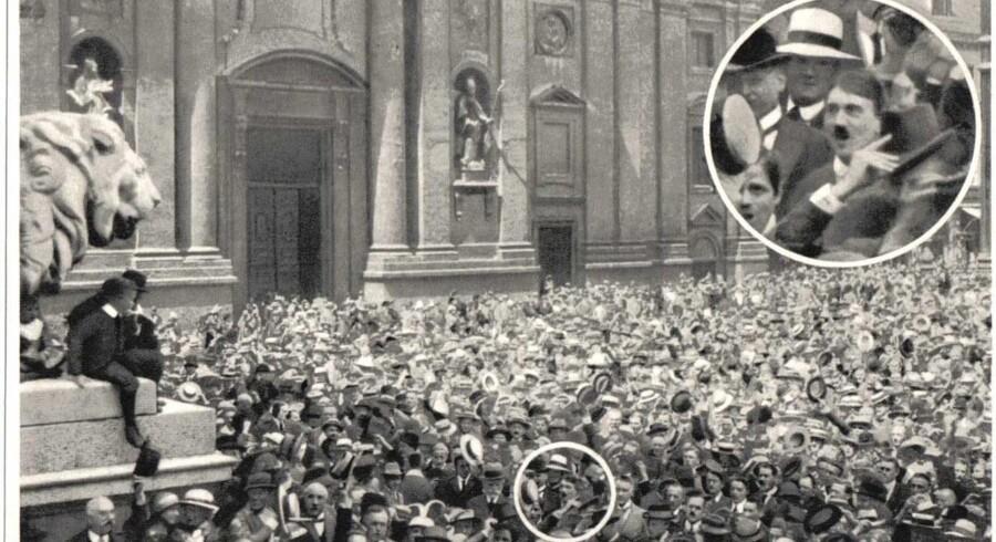 Hitler var blandt dem, der meldte sig til tjeneste under Første Verdenskrig. Senere spillede han på myterne om frontsoldaten fra netop Første Verdenskrig og var med til at ændre vores billede af blandt andet heroisme.