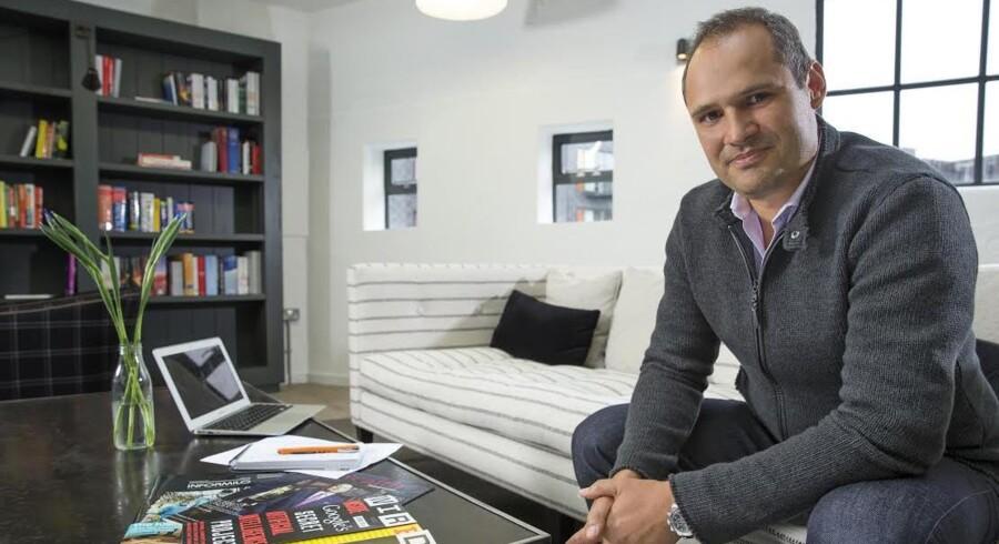 Lars Fjeldsø-Nielsen glæder sig til at spotte og samarbejde med danske iværksættere. PR-foto