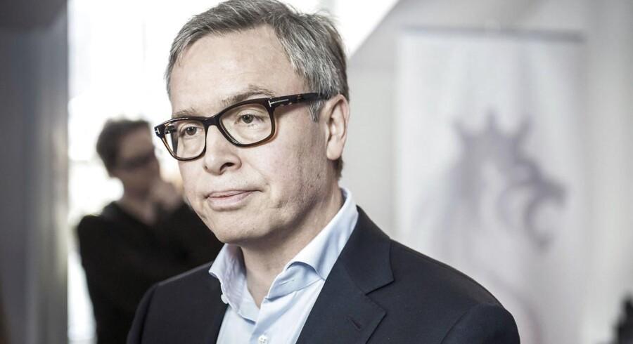 Scandinavian Tobacco Group skal børsnoteres.Selskabet planlægger at sælge aktierne, så virksomheden får en værdi på 9,3 til 11 mia. kroner. Her ses adm. direktør Niels Frederiksen.