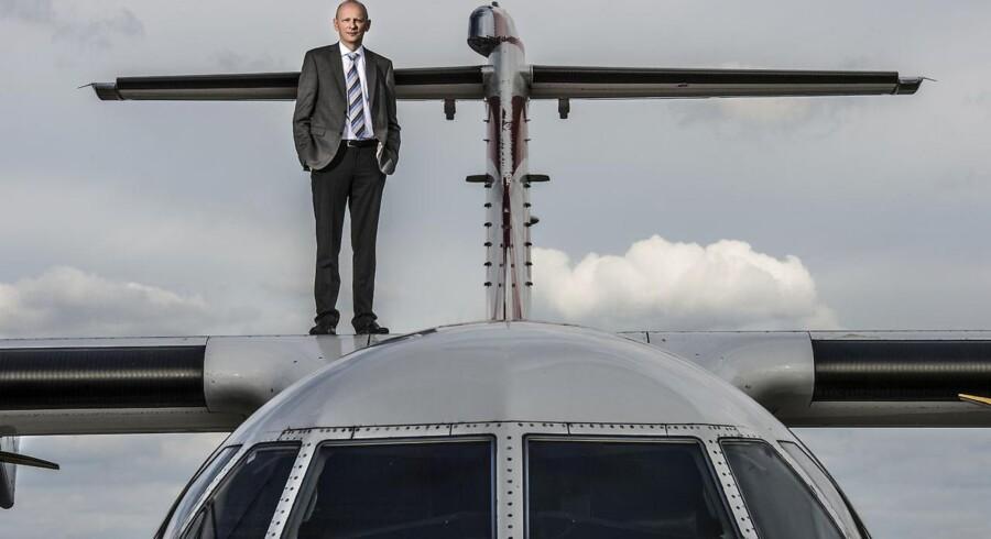 Martin Møller, stifter og formand for Nordic Aviation Capital, er blevet milliardær og blandt landets rigeste personer på salg og leasing af fly.