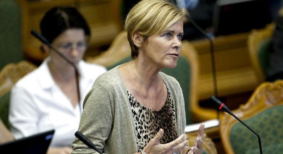 Mette Bock (LA) ønsker, at Irak-kommissionens indsamlede dokumenter fremlægges.