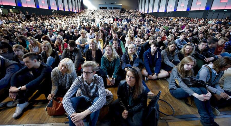 ARKIVFOTO 2012 af elever på Aalborg Universitet.