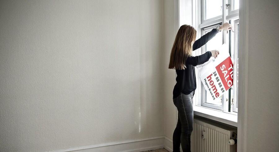 Det har været en gylden investering at købe lejlighed i København de senere år. En ny opgørelse fra Realkredit Danmark viser, hvor i København priserne er steget mest, hvis man har købt for henholdsvis et, fem og ti år siden. Arkivfoto: Mathias Bojesen/Scanpix 2015