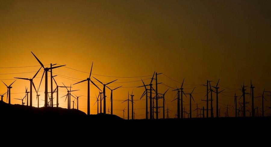 Kineserne taber kampen om vindmøllerne.