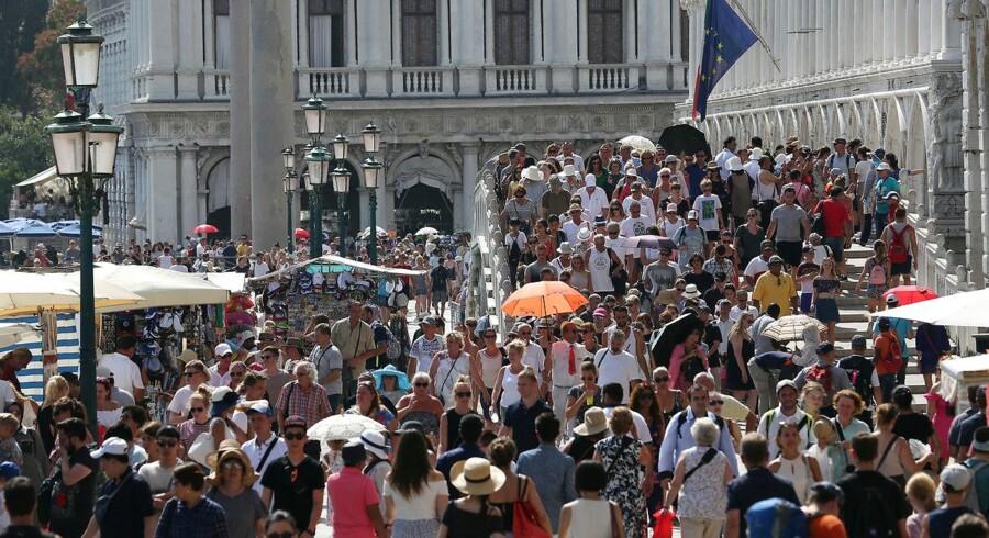 Venedig. En smuk by, man ikke kan se for turister. REUTERS/Stefano Rellandini