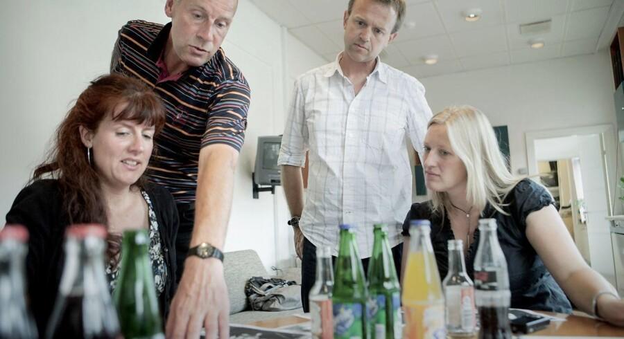 ARKIVFOTO: Tidligere nyhedschef på Se og Hør, Lise Bondesen (længst til venstre), under en redaktionsmøde på ugebladet.