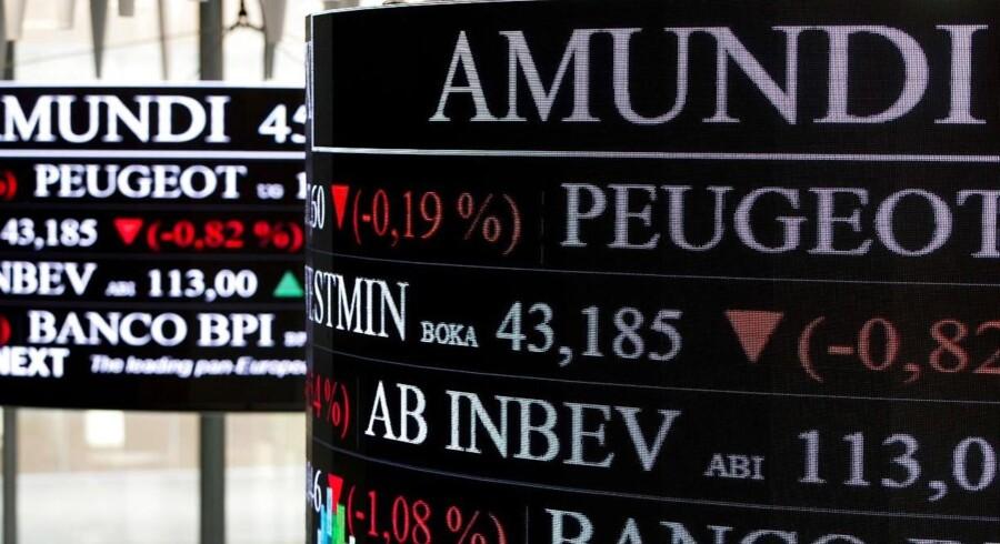 Det franske aktiemarked har kurs mod fald i kølvandet af fredagens terroranslag.