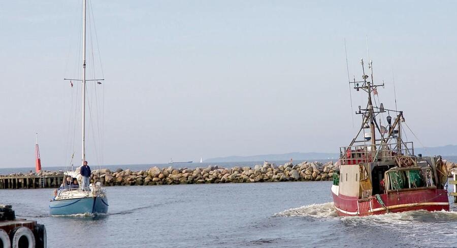 ARKIVFOTO af Fiskekuttere i Gilleleje Havn. Gilleleje-fiskere på juridisk dybt vand i Højesteret, hvor de nu har fået dom for at have fisket ulovligt.