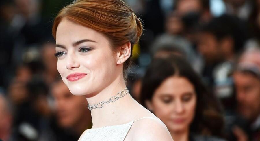 Emma Stone ved visningen af »Irrational Man« i Cannes.