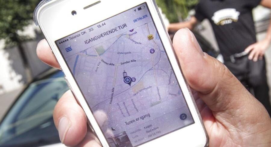 Taxi-app'en Drivr gik ud af 2013 med milliontab