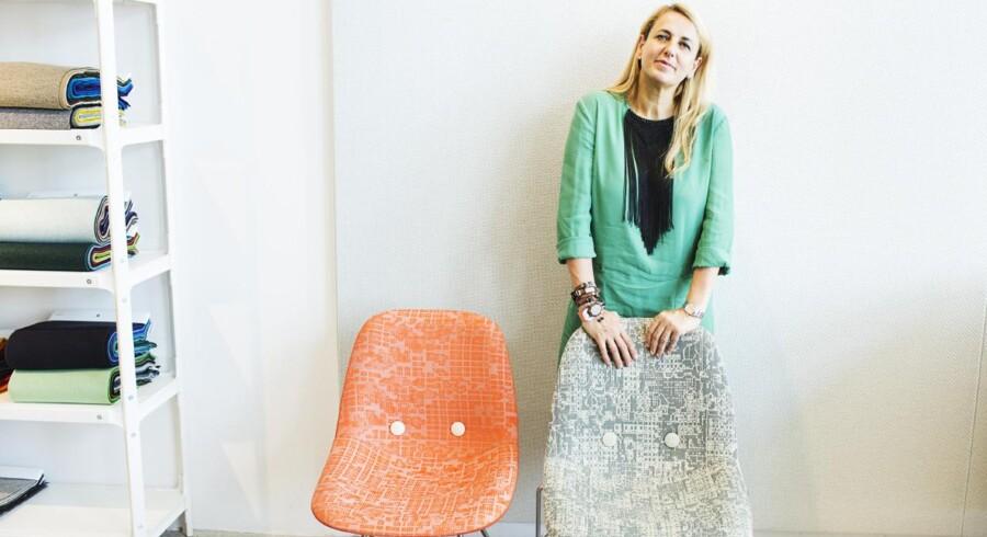 Patricia Urquiola var i København tidligere på året for at vise sine nye tekstiler for Kvadrat frem.
