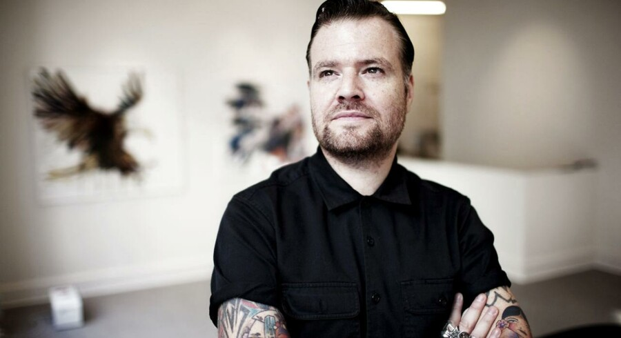 Popkunstneren Dave White.