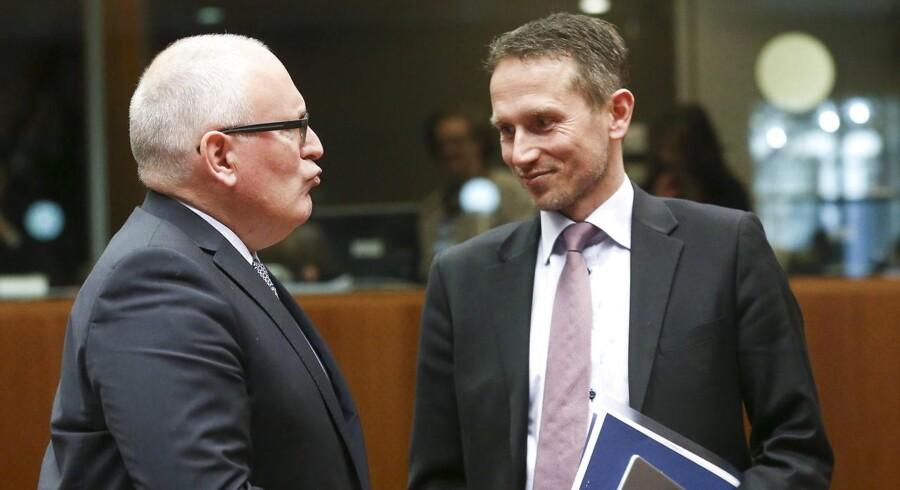 - Parallelaftaler er ikke noget, man bare kan trække i en EU-automat. Først når parlamentet har vedtaget den, kan vi tage de formelle skridt om at søge en aftale og få afklaret EU-Kommissionens, EU-Parlamentets og medlemslandenes holdning, siger Kristian Jensen.