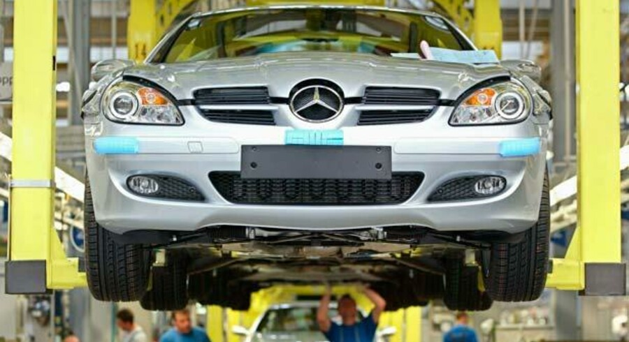 Tyskland er et af de sidste industrilande i Europa. Det er ikke, som f.eks. Storbritannien eller USA, en udpræget serviceøkonomi. Det var et problem for fem år siden, men er en fordel i dag.