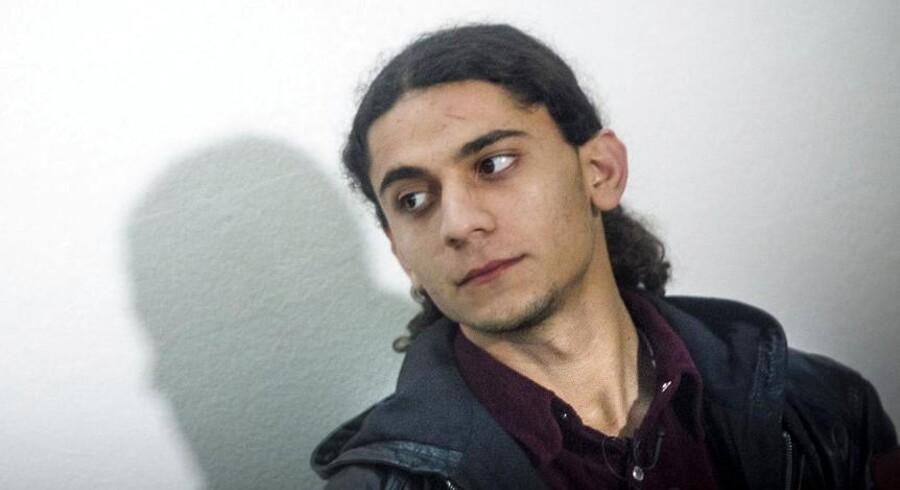 Arkivfoto. Yahya Hassan er ved Retten i Aarhus fundet skyldig i at have begået vold og idømt fire måneders betinget fængsel.