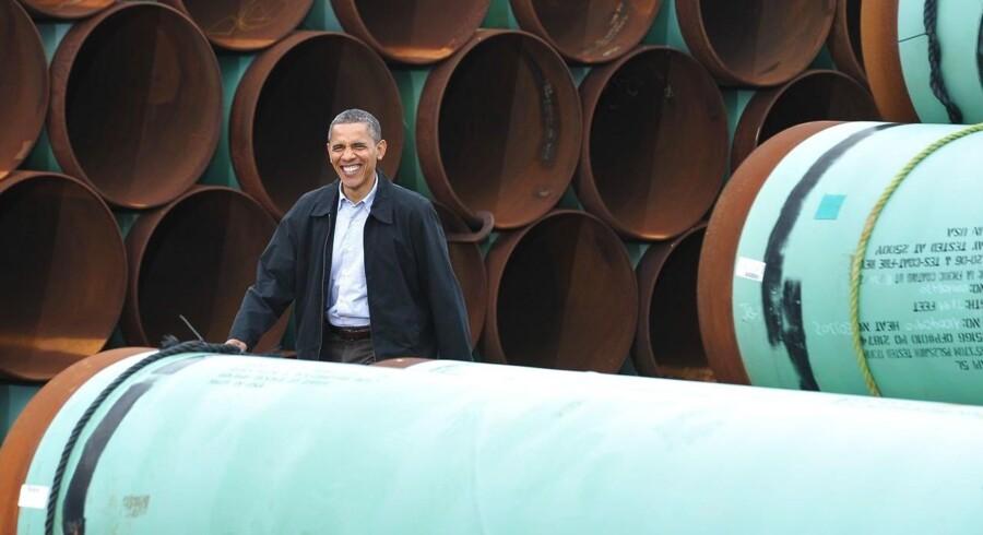 Energiselskabet TransCanada Corporation har onsdag lagt sag an mod den amerikanske regering i kølvandet på, at præsident Barack Obama har afvist at lade planerne om et storstilet olieprojekt blive til virkelighed.