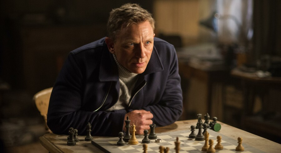 Daniel Craig som James Bond - nr. 1 verden over.